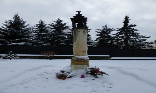Zdjecie POLSKA / historyczna Małopolska / Sosnowiec, województwo śląskie / Kapliczka słupo