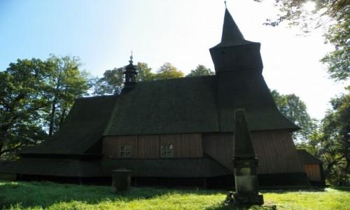 Zdjecie POLSKA / Małopolska / Osiek, powiat oświęcimski, województwo małopolskie / Drewniany kości