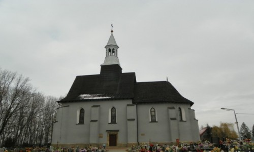 POLSKA / Górny Śląsk / Orzesze, powiat mikołowski, województwo śląskie / Kościół pw. św. Wawrzyńca, z ok. 1590 roku