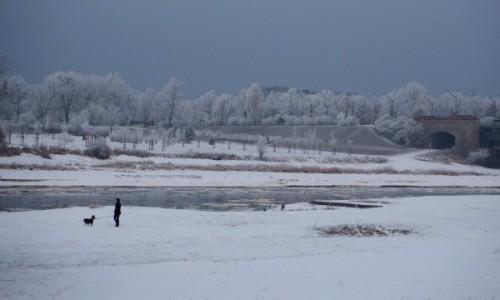 POLSKA / Wielkopolska / nad Wartą / zimno, ale przyjemnie...