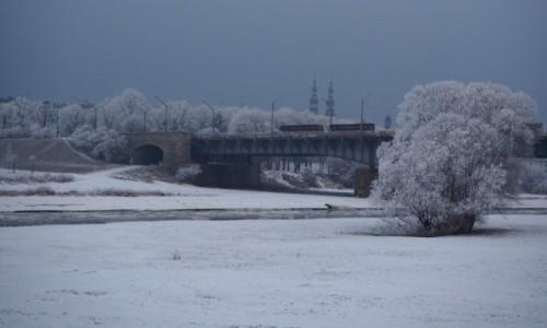 POLSKA / Wielkopolska / Poznań - Most Królowej Jadwigi / mostek trochę bliżej...