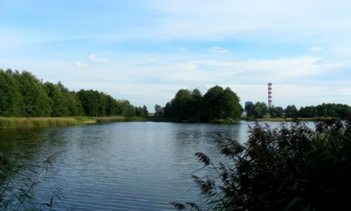 POLSKA / opolskie / Okolice elektrowni Opole / Na ryby