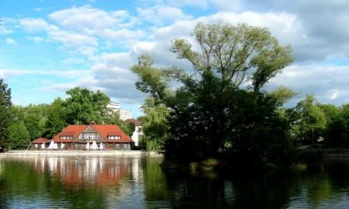 POLSKA / opolskie / Opole / Staw Barlickiego.