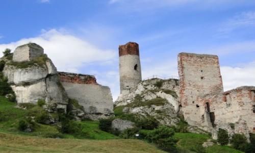 Zdjecie POLSKA / Jura Krakowsko-Częstochowska / Olsztyn k/Częstochowy / Ruiny zamku Ols
