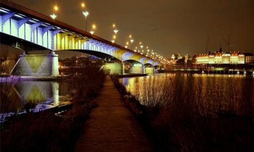 POLSKA / mazowsze / Warszawa / nocą