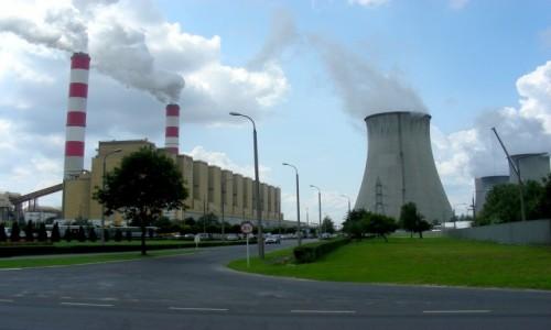Zdjecie POLSKA / łódzkie / Rogowiec / Elektrownia Beł