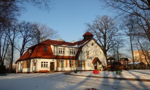 Zdjecie POLSKA / Górny Śląsk / Katowice-Giszowiec, województwo śląskie / Budynek dawnego