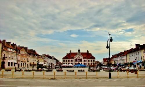 Zdjęcie POLSKA / województwo warmińsko-mazurskie / Pisz / Rynek w Piszu