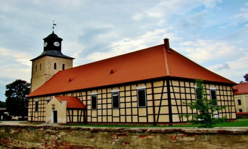 Zdjęcie POLSKA / województwo warmińsko-mazurskie / Pisz / Kościół św.Jana Chrzciciela z XVIII wieku