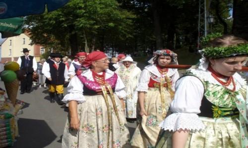 Zdjęcie POLSKA / opolskie / Góra św. Anny / Orszak dożynkowy