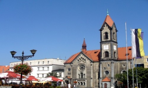 Zdjęcie POLSKA / ślaskie / Tarnowskie Góry / Kościół ewangelicko-augsburski