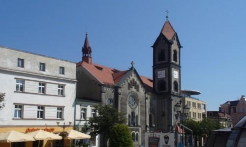 Zdjęcie POLSKA / śląskie / Tarnowskie Góry / Fragment rynku