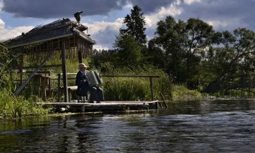 Zdjecie POLSKA / woj. podlaskie / Czarna Hańcza / muzyka-rzeki