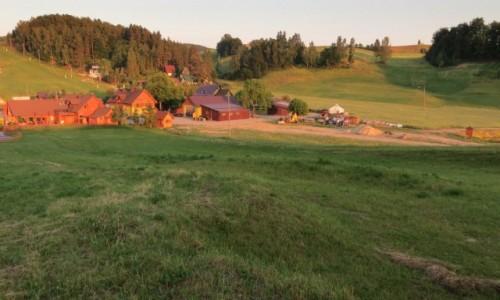 POLSKA / Kaszuby / Wzgórza  Szymbarskie / nim zgaśnie...