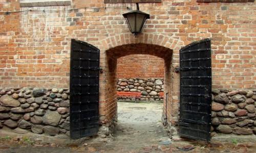 POLSKA / województwo łódzkie / Uniejów / Uniejów-zamek Arcybiskupów Gnieźnieńskich
