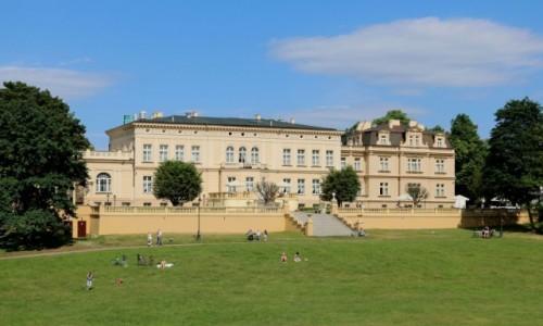 Zdjecie POLSKA / Kujawy / Ostromecko k/ Bydgoszczy / Pałac Nowy w Ostromecku k/ Bydgoszczy