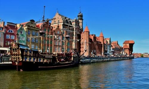 Zdjecie POLSKA / woj. pomorskie / Gdańsk / Nad Motławą