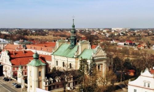 POLSKA / woj. świętokrzyskie / Sandomierz / Z Bramy Opatowskiej