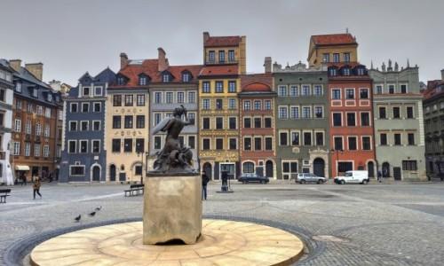 Zdjęcie POLSKA / mazowieckie / Warszawa / Stare miasto o poranku