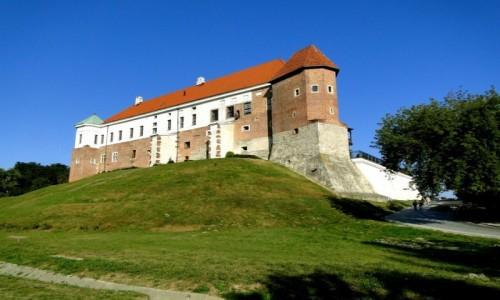 POLSKA / świętokrzyskie / Sandomierz / Zamek w Sandomierzu.