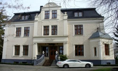 Zdjęcie POLSKA / opolskie / Groszowice / Pałac z XIXw  fronton