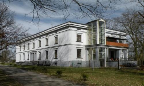 POLSKA / opolskie / Radawie / Pałac  z pięknym parkiem