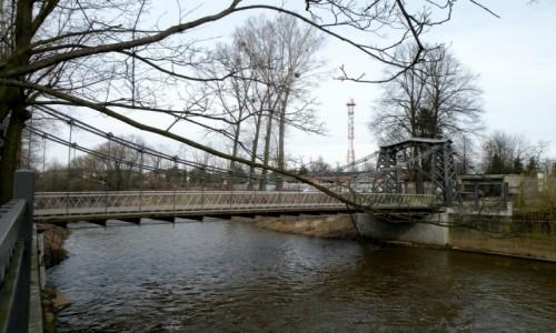 Zdjecie POLSKA / opolskie / Ozimek / Widok mostu zabytkowego, nad Małą Panwią