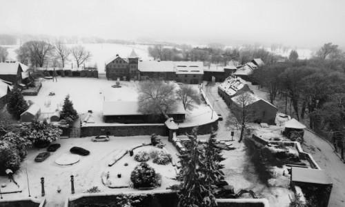Zdjęcie POLSKA / Karkonosze / Zamek Czocha / Widok z wieży zamku Czocha