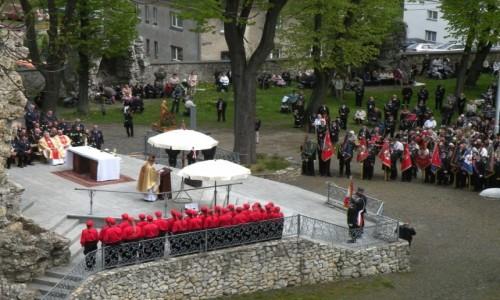 Zdjecie POLSKA / opolskie / Góra Sw. Anny /  20-ta pielgrzymka strażaków
