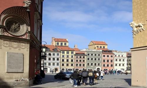 Zdjecie POLSKA / Warszawa / Rynek Starego Miasta / Wejście