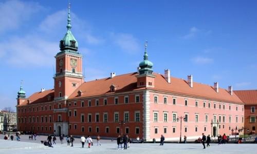Zdjęcie POLSKA / Warszawa / Plac Zamkowy / Zamek Królewski