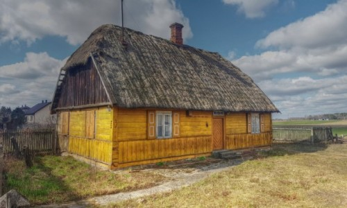 POLSKA / mazowieckie / Wólka Dłużewska / Na Mazowieckiej wsi (to nie skansen)