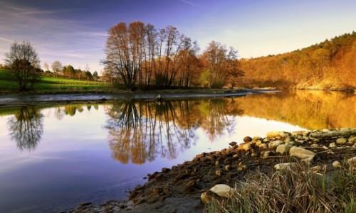 Zdjęcie POLSKA / Bory Tycholskie / Dolina Brdy / Między złotą a niebieską godziną