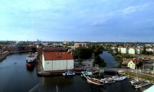 Zdjecie POLSKA / Pomorze / Gdańsk / Gdańsk widziany z Diabelskiego Młyna