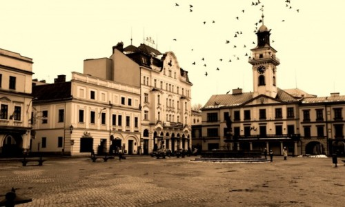 Zdjęcie POLSKA / śląski / Cieszyn  / Cieszyn rynek