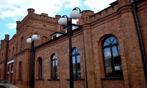 Zdjecie POLSKA / województwo łódzkie / Skierniewice / Dworzec w Skierniewicach