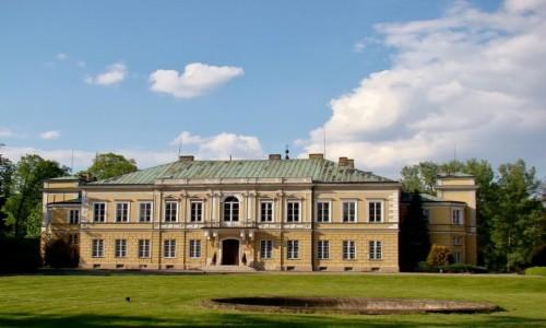 Zdjęcie POLSKA / województwo łódzkie / Skierniewice / Pałac Prymasowski z XVII wieku