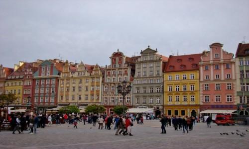 Zdjecie POLSKA / województwo dolnośląskie / Wrocław / Wrocławskie kamieniczki