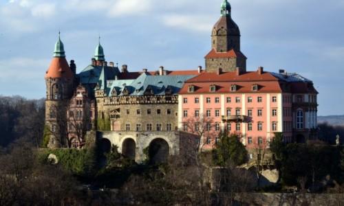Zdjęcie POLSKA / dolnośląskie / Wałbrzych / Zamek Książ