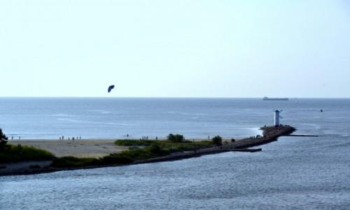 Zdjecie POLSKA / Zachodniopomorskie / Świnoujście / Widok z promu na plażę