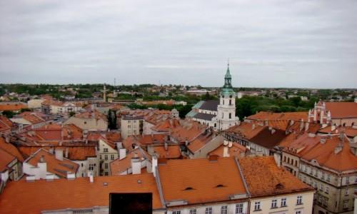 Zdjęcie POLSKA / województwo wielkopolskie / Kalisz / Widok z wieży ratusza