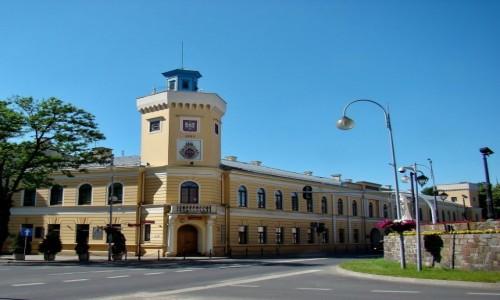 Zdjecie POLSKA / województwo łódzkie / Radomsko / Ratusz z 1857 roku