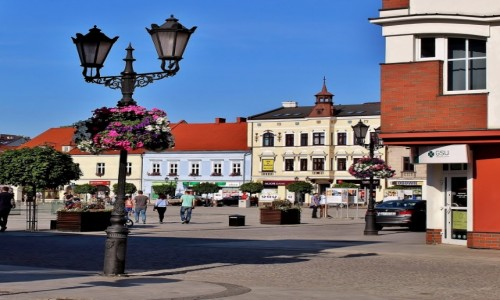 Zdjecie POLSKA / województwo małopolskie / Oświęcim / Rynek