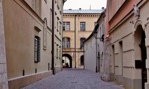 Zdjęcie POLSKA / województwo małopolskie / Kraków / Uliczki Krakowa-ulica Senacka