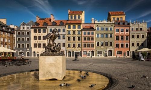Zdjęcie POLSKA / mazowsze / Warszawa / Rynek Starego Miasta