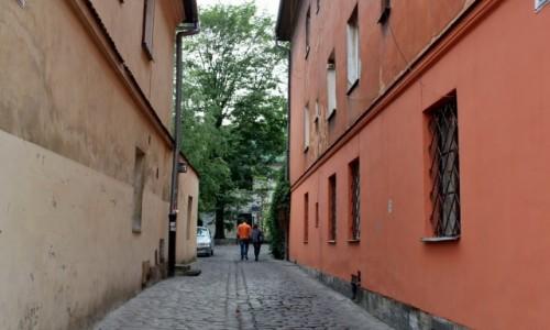 Zdjęcie POLSKA / województwo małopolskie / Kraków / Uliczki Krakowa-ulica Lewkowa