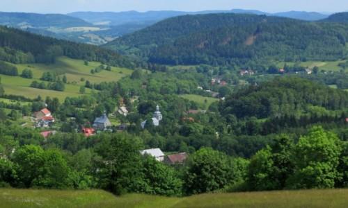 Zdjęcie POLSKA / Dolny Śląsk / Rudawski Park Krajobrazowy - Leszczyniec / w Kotlinie Kamiennogórskiej...