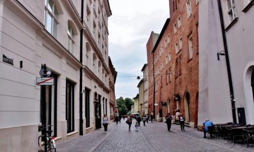 Zdjecie POLSKA / województwo małopolskie / Kraków / Uliczki Krakowa-ulica Sienna