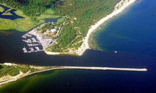 Zdjecie POLSKA / Pomorskie / Gdańsk - Stogi / Narodowe Centrum Żeglarstwa i plaża