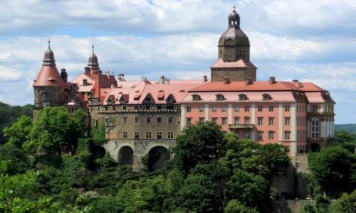 POLSKA / Dolny Śląsk / zamek Książ / kiedyś mieszkała tu Daisy...